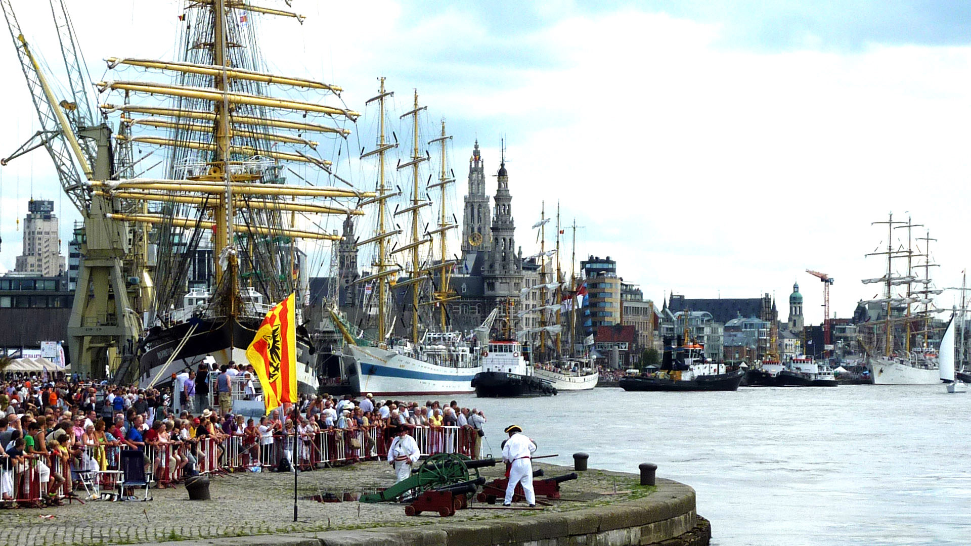 Tall Ships Antwerp